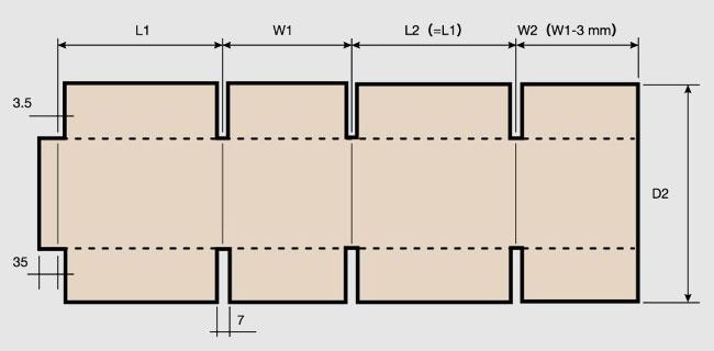 T-GCF移动式高速印刷开槽模切糊箱联动线